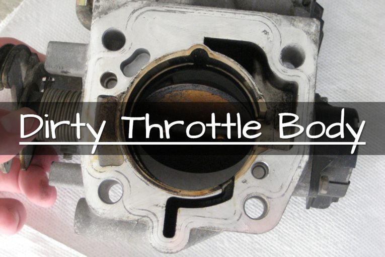 dirty throttle body