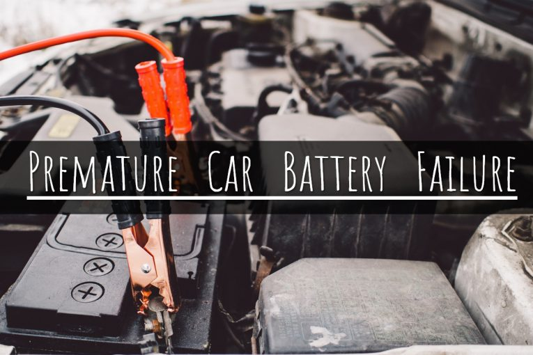 premature car battery failure